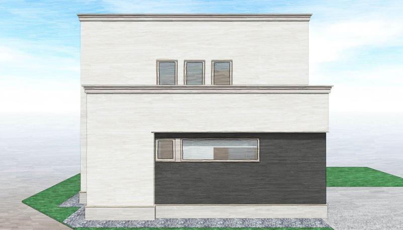 【7月中旬 完成・公開予定】 大麻北町モデルハウス