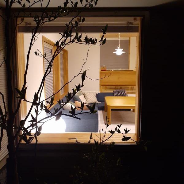 夜の時間が上質な住宅~例えば東開町モデルハウス